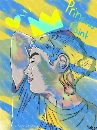 """Princess Paint"" Digital Media 2018"